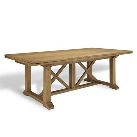 driftwood draw leaf dining table ralph home