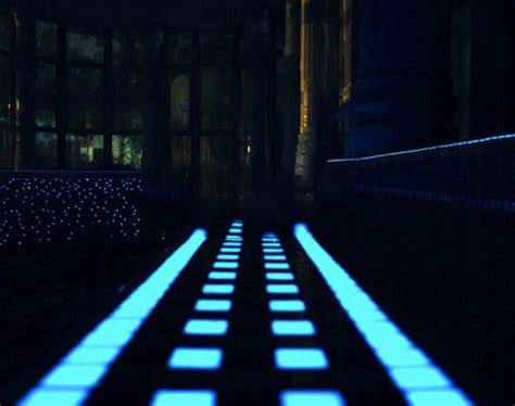 Fluorescent Glow in the Dark Glass Tile Pool ? 3 Lightopia's Blog The latest in Lighting and