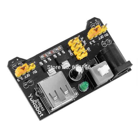 Power Supply 5v 33v Module For Breadboard Mb 102 1pcs mb102 breadboard power supply module 3 3v 5v for