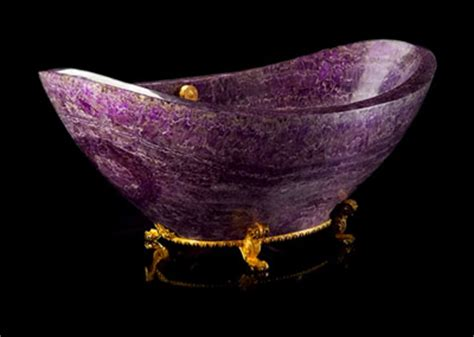amethyst bathtubs  sinks modern home decor