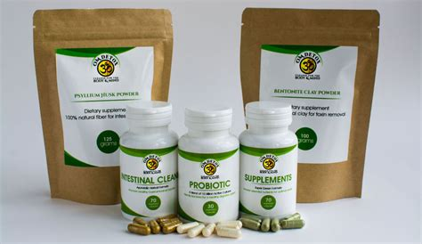 7 Day Detox Cleanse For Acne by Buy 7 Day Detox Colon Cleanse Kit With Probiotics