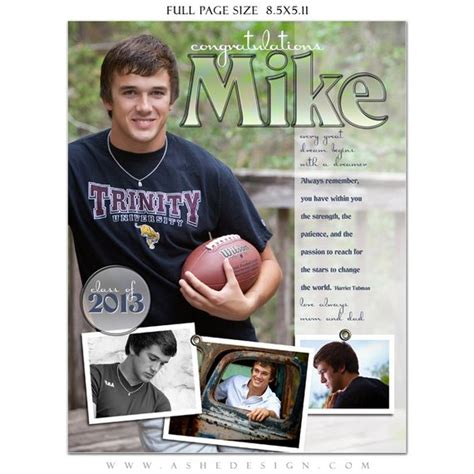 Senior Yearbook Ads Photoshop Templates Hot Shots High Yearbook Ad Templates
