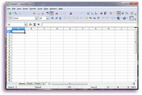tutorial excel libreoffice libreoffice calc tutorial 1 basic functionality