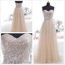 2014 sequin long prom dress formal custom prom dress cheap tulle dress