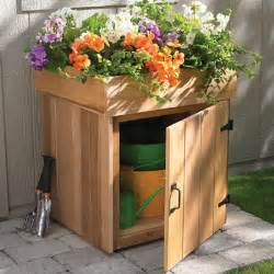 Planter Storage Box by How To Build A Planter That Has Character And Style