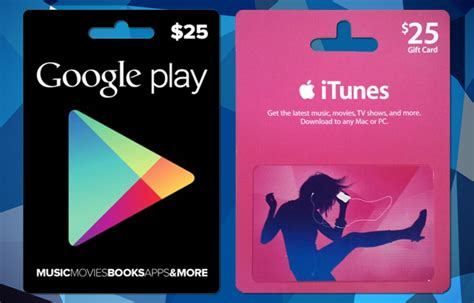 Google Play Store Gift Card Online - google play vs itunes store the giants of online music reader s home