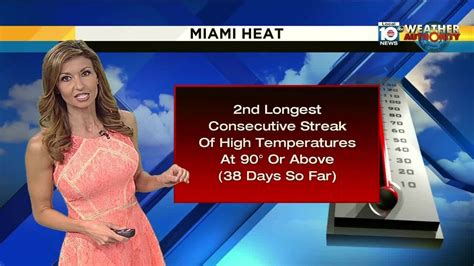 Records For Florida South Florida Nearing Record For Consecutive 90 Degree Plus