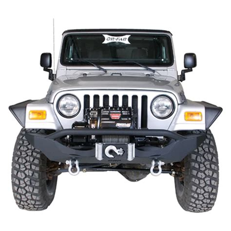 Orf Jeep Bumper Or Fab 83665 Orf Front Winch Bumper Fits 97 06 Wrangler