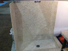 granit dusche faux shower wall panels