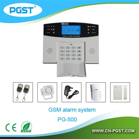 smart home gsm alarm home automation system pg 500 sms