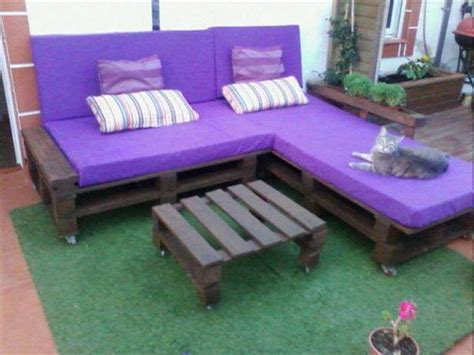 pallet l shaped couch 30 diy pallet furniture projects 99 pallets