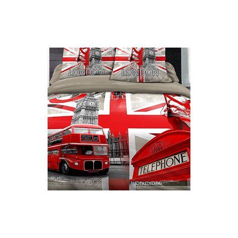 Housse De Couette Londres by Achat Housse De Couette Coton 220x240 Cm Londres R 233 Tro Pas