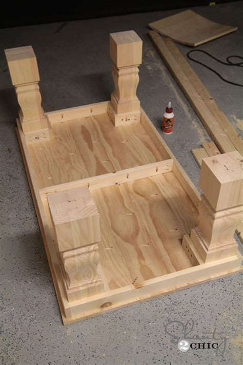 build a farmhouse modern farmhouse coffee table shanty 2 chic