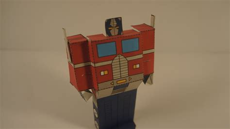 How To Make Optimus Prime Out Of Paper - how to make a transforming papercraft optimus prime