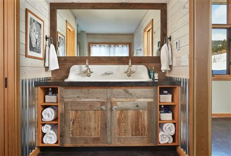Small Bathroom Waste Baskets 51 Insanely Beautiful Rustic Barn Bathrooms
