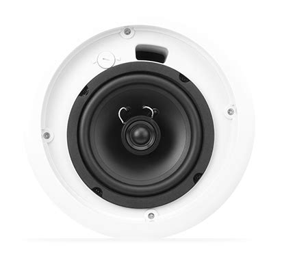 qsc ac c6t 6 two way ceiling speaker 70 100v full compass
