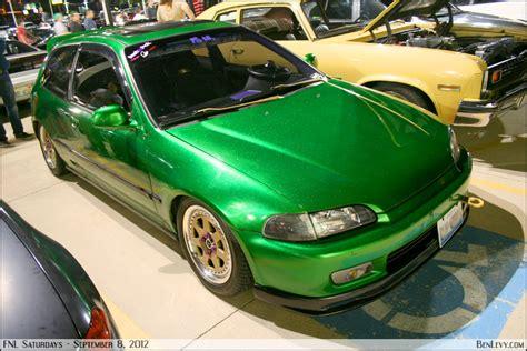 honda green green honda civic benlevy