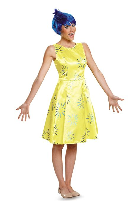 Adlt Out Of The Blue deluxe inside out costume