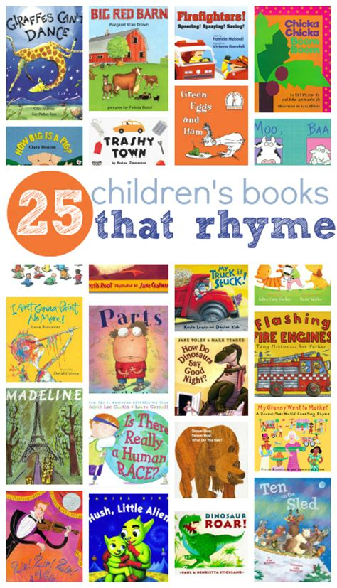 the animal rhyme books 25 picture books that rhyme