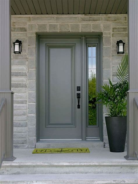 outside doors steel entry doors with sidelights and transom entry