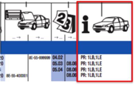 Audi Pr Nummer by Fahrgestellnummer