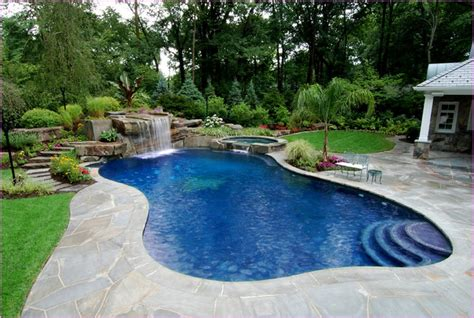 nice backyards with pool nice backyard pool and landscaping ideas backyard privacy