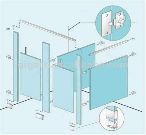 bathroom partition wall height toilet partition height american hwy
