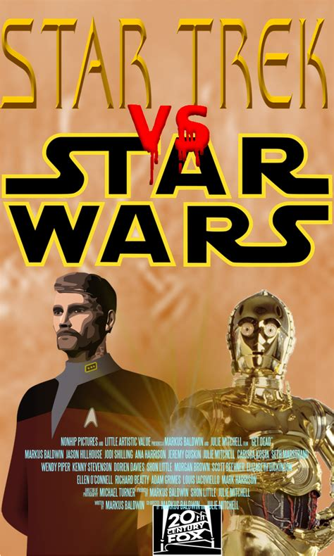 fan made star trek games star trek vs star wars movie poster fan made by jorgepuey5