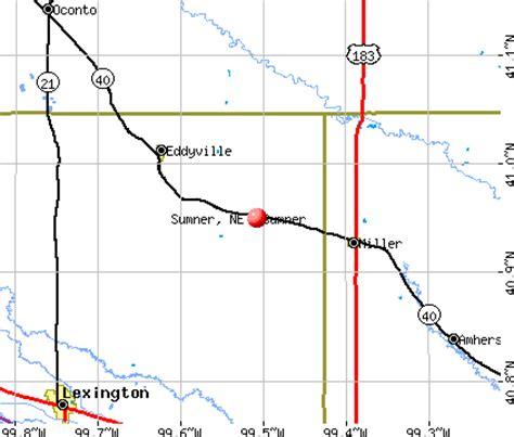 sumner, nebraska (ne 68878) profile: population, maps