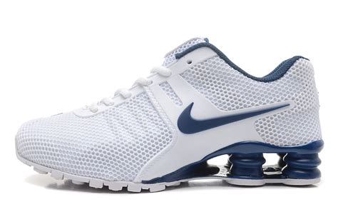 blue and white nike shox for sale blue and white nike shox