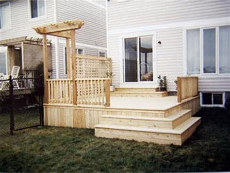 ottawa deck builder wood deck building design ottawa