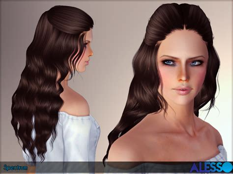 download hair female the sims 3 anto s alesso spectrum hair