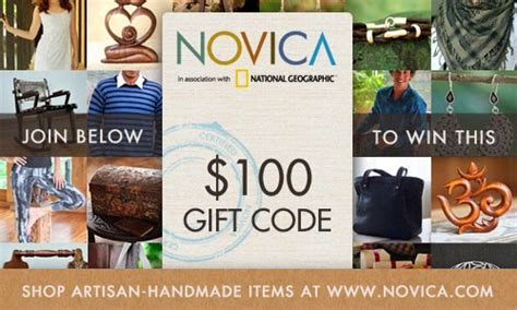 Novica Giveaway - support world artists enter the novica gift card giveaway