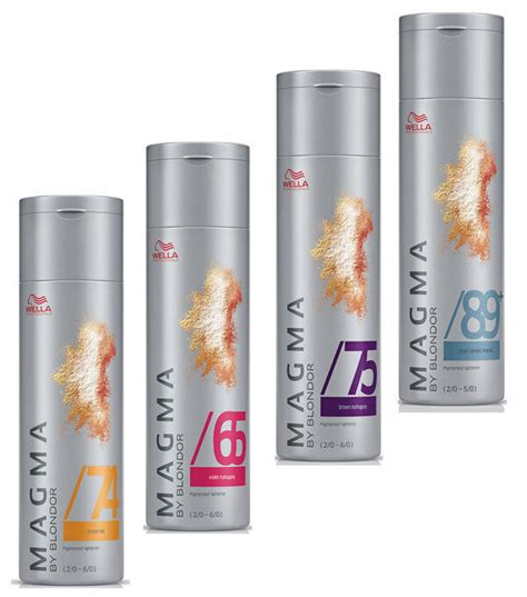 magma color wella professional magma colour for hair lightening 120gr