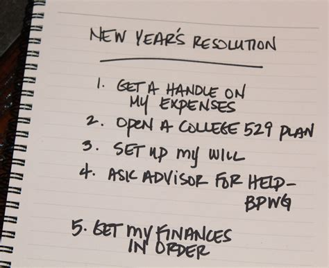 Bradford Mba Fees by New Year S Resolutions Get Your Finances In Order Sta