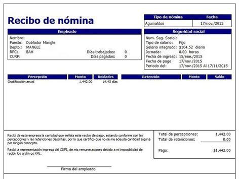 recibos de nomina plataforma cdmx recibo comprobante de liquidacion de pago cdmx