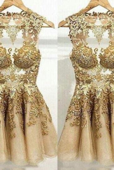 Gold Prom Dress on Luulla