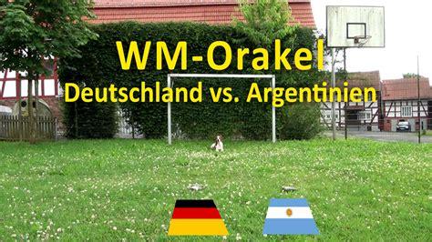 deutschland argentinien 2014 wann wm orakel deutschland gegen argentinien im wm2014 finale