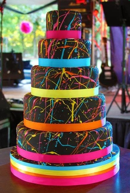 80 s theme wedding cake cakecentral