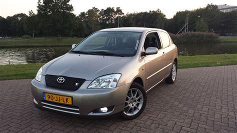 Toyota Corolla T Sport 2002 2002 Toyota Corolla 1 8 Vvtl I T Sport