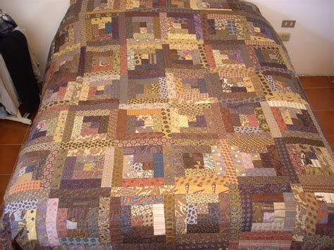 Copriletti Patchwork by Copriletto Patchwork Logcabin