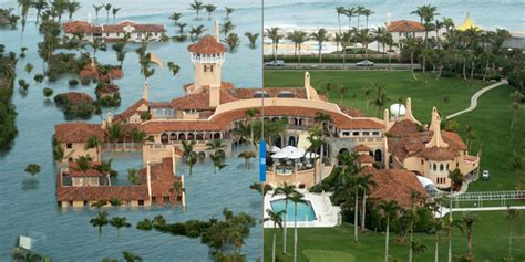 donald trump house in florida sea level rise is overtaking south florida trump s