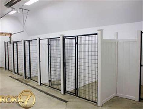 indoor kennel drain in front of indoor kennels room mudroom