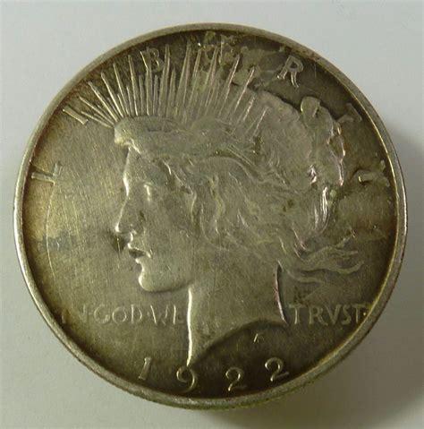 1 dollar silver coin 1922 1922 d silver liberty peace dollar 1 us coin item 9606