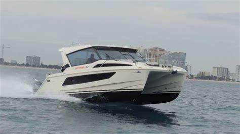 catamaran game aquila 36 power catamaran another game changer from