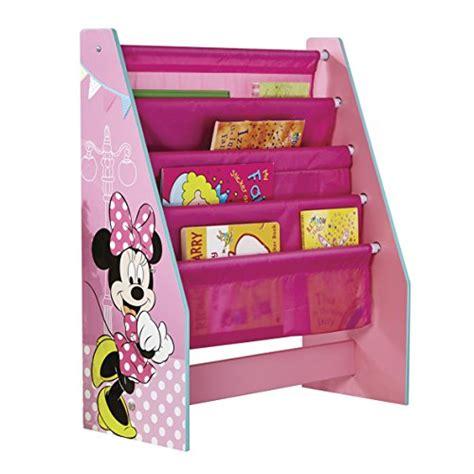 minnie mouse kids bedroom save 2 disney minnie mouse kids sling bookcase bedroom storage by hellohome