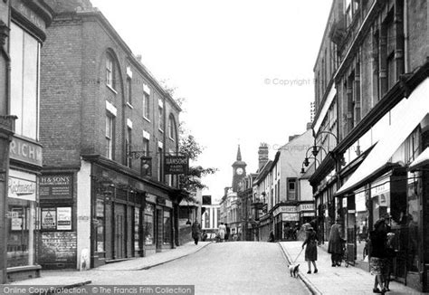 wallpaper shop abbey green nuneaton photo of nuneaton bridge street c 1945 francis frith