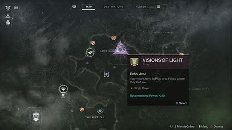 light destiny 2 what to do with visions of light in destiny 2 forsaken