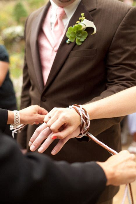 handfasting literally quot tying the knot quot an ancient