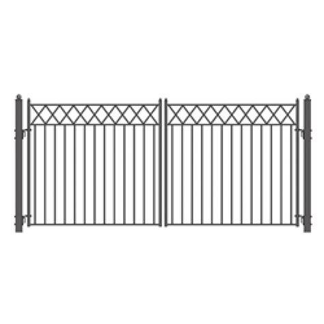 dual swing gate stockholm swing dual steel driveway gates 14 x 6 1 4